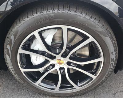 "Cayenne E3/9Y0 21 "" OEM Set Exclusive Design Wheels Jet Blk Metallic"