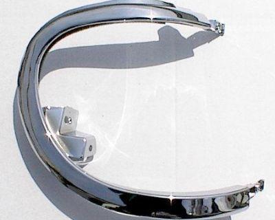 R Chrome Bezel 95-01 Explorer 1995-2001 Headlight Door