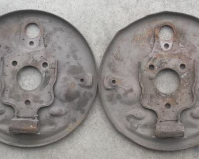 1958-64 Front Backing Plates Pair