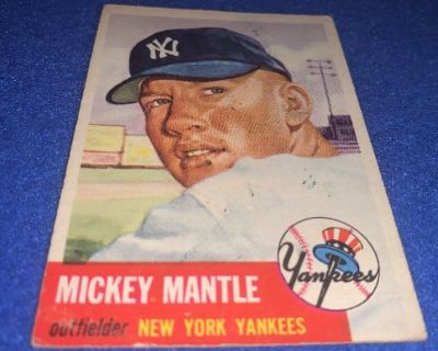 VINTAGE 1950'S SPORTS CARD AUCTION