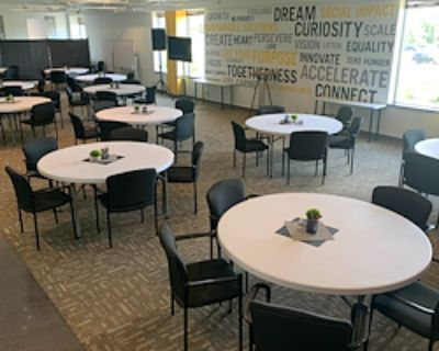 Event Space for 100 at Nexus Impact Center