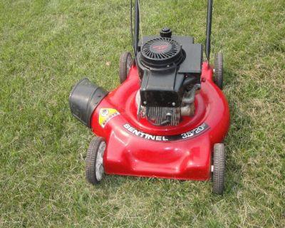 (Lawn Mowers) 20 Sentinel 3.5 Hp Briggs Easy