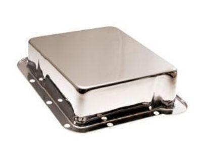 Chrome Transmission Pan C-4 I Inch Deeper Performance