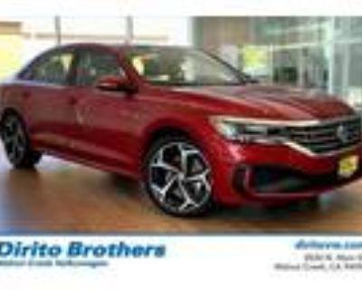 2021 Volkswagen Passat Red, 10 miles
