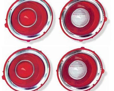 1970 - 1973 Camaro Tail Light And Back Up Lights - 70-73