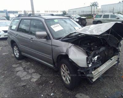 Salvage Gray 2006 Subaru Forester