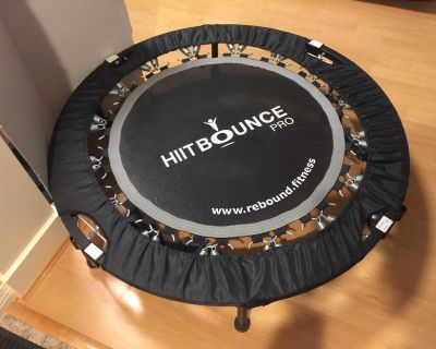 Maximus HIIT Bounce PRO Workout Foldable Trampoline for Adults
