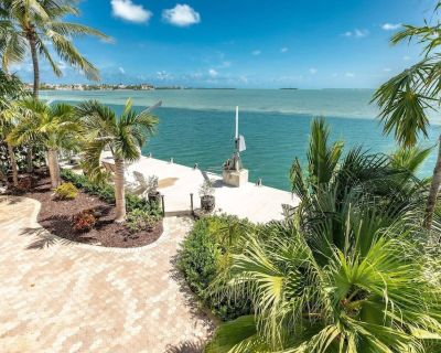 ENDLESS SUMMER COTTAGE - Your Tropical Island Escape, Open Water Views, Amazing Sunsets & Dockage! - Summerland Key