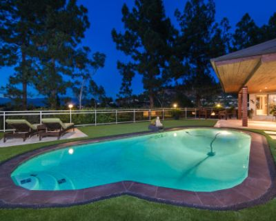 Elegance in Hollywood Hills with Panoramic View, Studio City, CA
