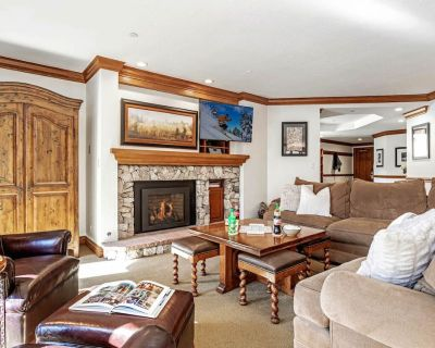 BC Lodge at Covered Bridge with Pool, Hot Tub, Fitness Room, Fireplace, AC - Beaver Creek