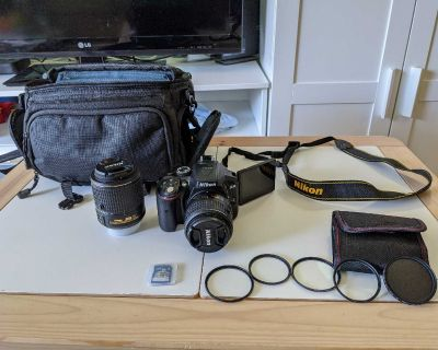 Nikon D5300 DSLR w/ 18-55mm & 55-200mm lenses