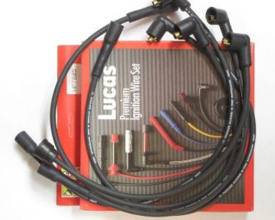 Lucas Ignition Wire Set Fits Nissan F10 B210 Sentra & Pulsar Hp7605