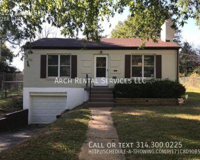Pet Friendly &  Cozy Vaughan Brick Home in U-City!  Only $800 Hardwoods & 1 car garage