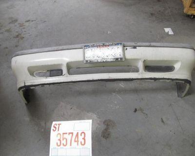 94 95 96 97 Volvo 850 Sedan Front Bumper Cover Oem White Scratches Crack