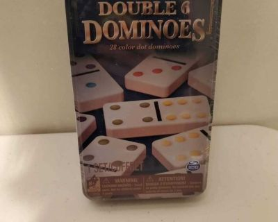 Double 6 Dominos Game New Unopened