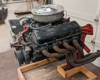 Engine, transmission and rear end plus extras (mechanic owned)