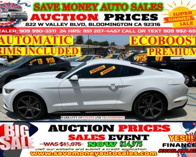 2015 Ford Mustang ECOBOOST PREMIUM> EXTRA CLEAN> RIMS INCLUDED