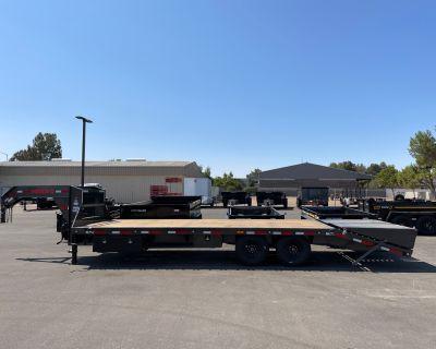 "2021 MAXXD TRAILERS 25' X 102"" Single Wheel Flatbed Utility Trailers Paso Robles, CA"