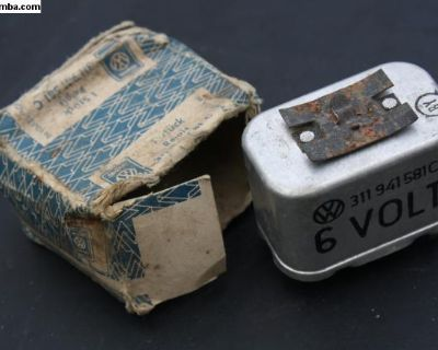 NOS Early Dimmer Headlight Relay 1966 Ghia