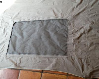 Vanagon pop top front tent pc with screen and zipr