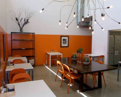Contemporary Commercial Kitchen-Cafe and Loft Space, Van Nuys, CA