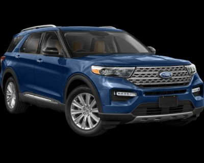 New 2021 Ford Explorer Limited with Navigation & 4WD