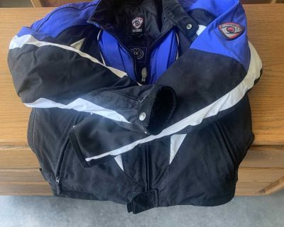 Suomy armoured motorcycle jacket size 52 and 48
