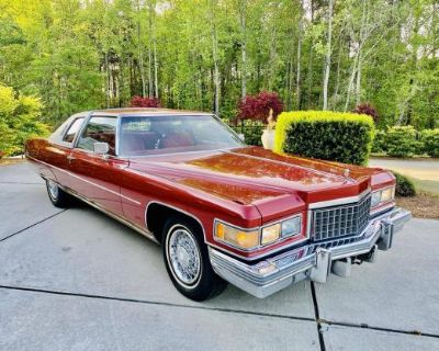 1976 Cadillac DeVille All-Steel Coupe overhead valve Restored Stock Hydra-Matic