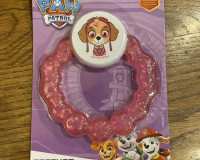 New Paw Patrol Teether Rattle Toy