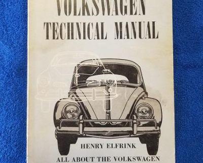 VW Technical Manual & 36hp High Perf Book