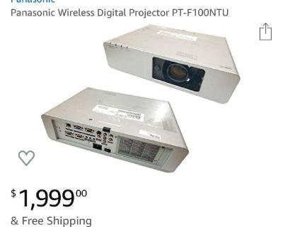 Panasonic wireless projector