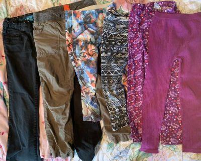 All 7 pants for $2 girls (b)