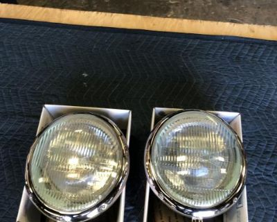 Bug '49-'66 Hella Fluted Lens Headlight Assemblies