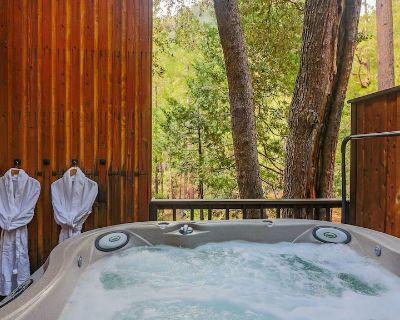 Big Rock Creek Lodge: Mountain Retreat w/ Views, Spa, On Creek, Pet Friendly - Fern Valley