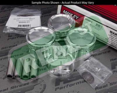 Manley Pistons Honda Civic Si B16 B16a B16a2 81.5mm 9.8:1 603105-4