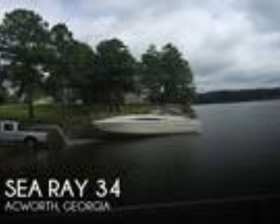 34 foot Sea Ray 34