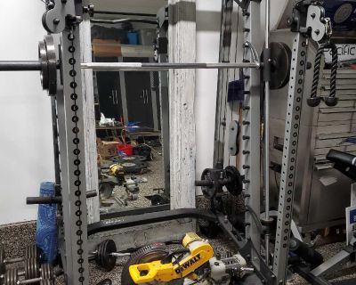 Nautilus Home Gym/Weights/Benches/Fly Rack $1250
