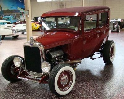 1930 Ford Model A Sedan Highboy Hot Rod