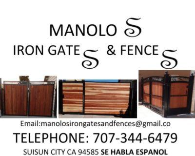 Manolos Iron Gates and Fences.