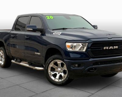Pre-Owned 2020 Ram 1500 Big Horn 4x4-Off Road Package-Apple CarPlay Four Wheel Drive Pickup Truck