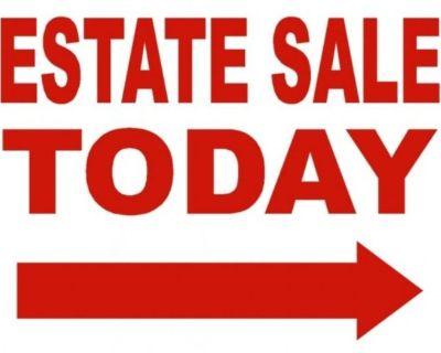 Estate Sale Inside House/ Garage