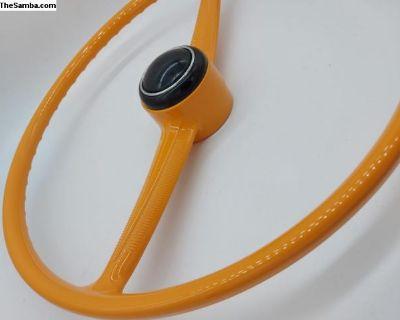 Stylishwheels Steering Wheel Orange Yellow Bus