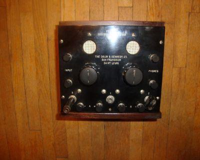 wanted: test equipment radios ham equipment vacuum tubes