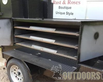 FS/FT BBQ Smoker Cooker Grill Trailer Football Catering Food Truck Business Trades