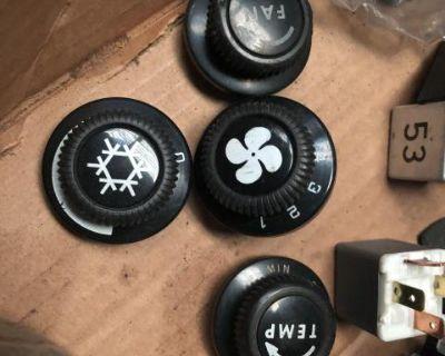 Vanagon dash knobs