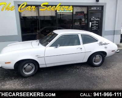 1973 Ford Pinto 4dr Sdn Base