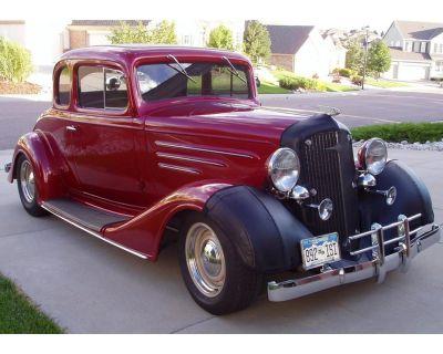 1934 Chevrolet 5-Window Coupe