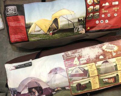 Camping Gear 2 full Tents