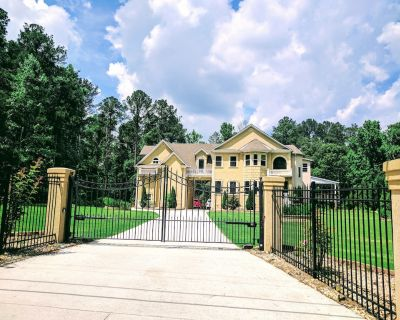 Gated 5BR/4.5BA House - Internet and Grill - Gwinnett County