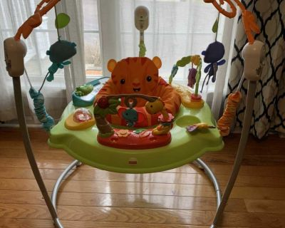 Fischer Price Tiger Time jumperoo